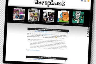Scrapbook Theme