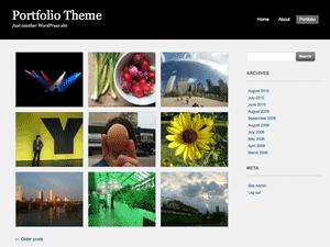 Portfolio Press — тема для створення портфоліо