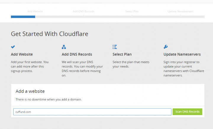 domain add to cloudflare