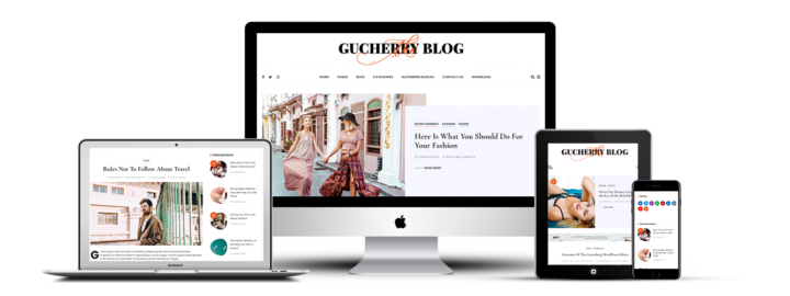 Шаблон для WordPress GuCherry Blog