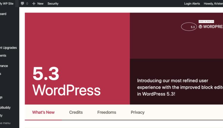 WordPress 5.3. Топ нових функцій