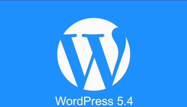 WordPress 5.4 – що нового?