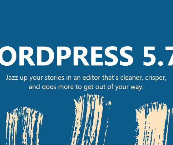 WordPress 5.7.2
